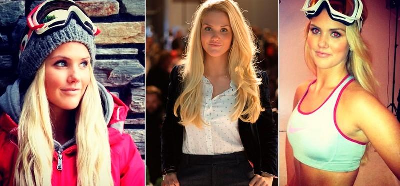 Силье Норендаль - сноубординг девушки, красавицы, красота, красотки, обаятельные и привлекательные, спорт, спортсменки, фото