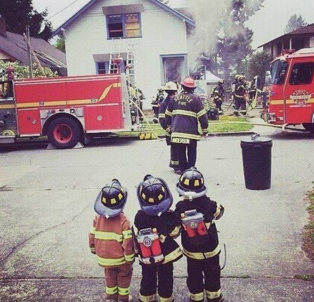 Картинки про пожарных с приколом