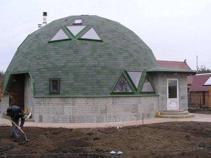 Как самостоятельно построить купольный дом Купольный дом, строительство, фишки-мышки
