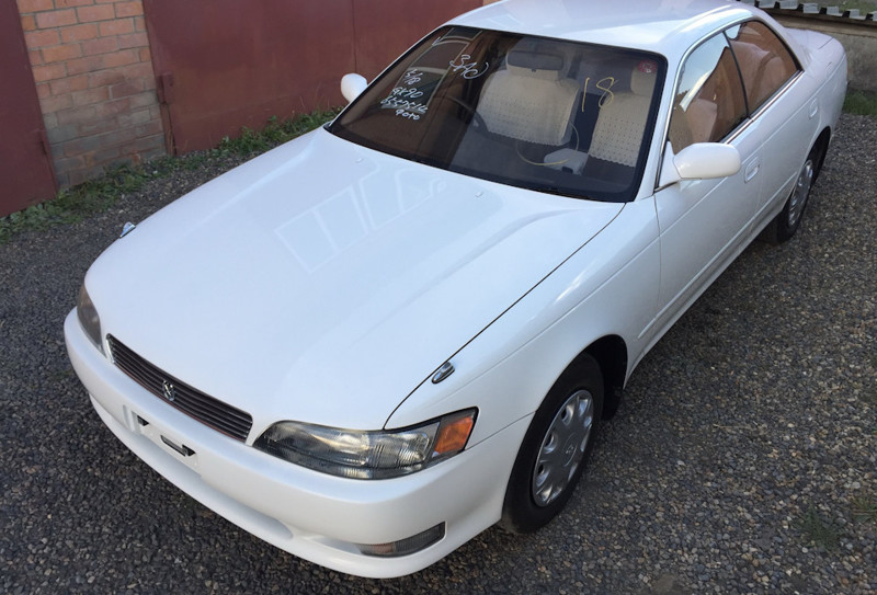 Toyota Mark II 1994 года с пробегом 5764 км Mark II, toyota, капсула времени
