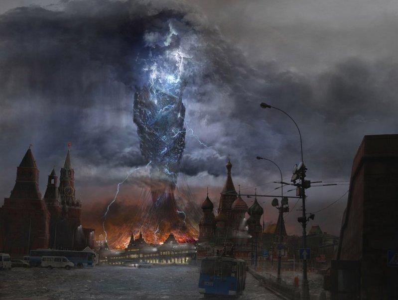 Картинки по запросу москва руины арт