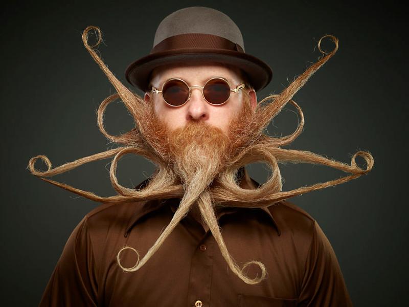 Рисованные бородачи