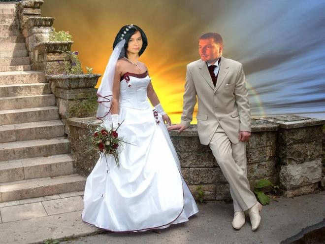 Защеканка с невестой