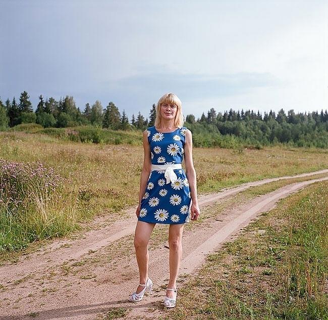 Женщины фото деревенские 9