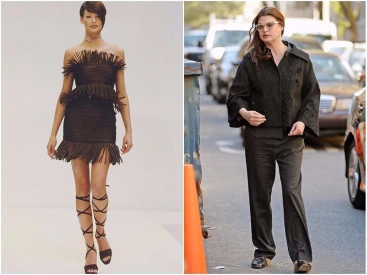 Линда Евангелиста Супермодель, внешность, знаменитости, модель, полнота, фигура