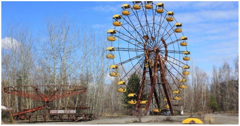 Польские энтузиасты запустили колесо обозрения в Припяти Припять, Чернобыль, видео, зона отчуждения, колесо обозрения, поляк, поляки, украина