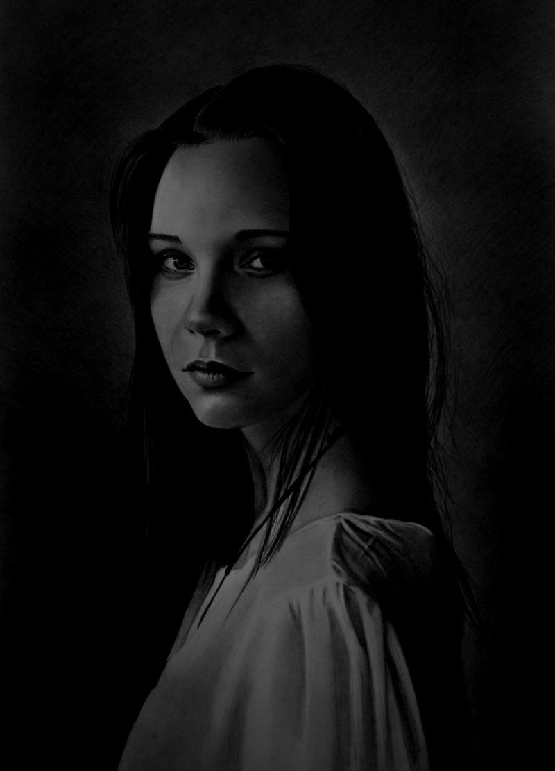 Портреты Мариуша никого не оставляют равнодушным. Они невероятно красивы, детальны и реалистичны. безрукий, картины, портреты, талант, трогательно, уличный художник, фото, художник