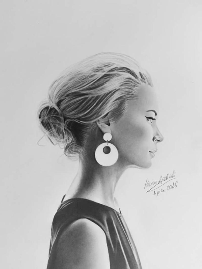 Мариуш Кедзерский — безрукий художник с невероятным талантом и большими планами безрукий, картины, портреты, талант, трогательно, уличный художник, фото, художник