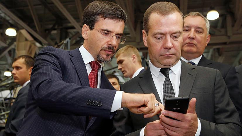 Медведеву подарили российский смартфон Inoi R7: реакция соцсетей Inoi, импортозамещение, иной, медведев, смартфон