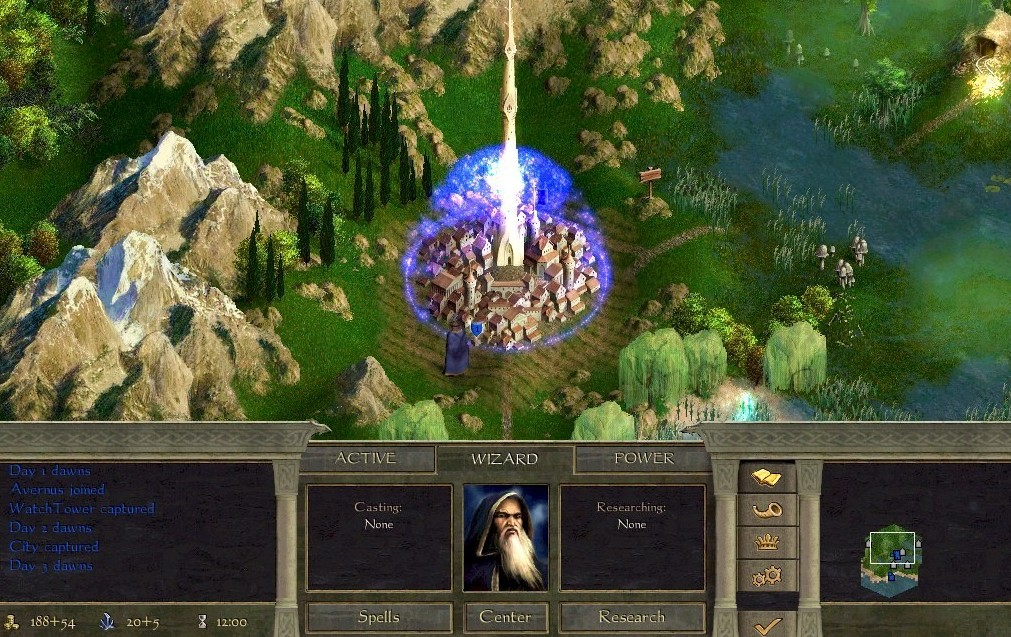Age of Wonders II Turn-based strategy, Windows XP, games, strategy, игры, пошаговые стратегии, стратегии, стратегия