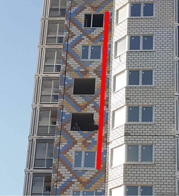 Как? Как можно было так построить? жилье, и так сойдет, квартира, новостройка, прикол, ремонт, стройка, юмор
