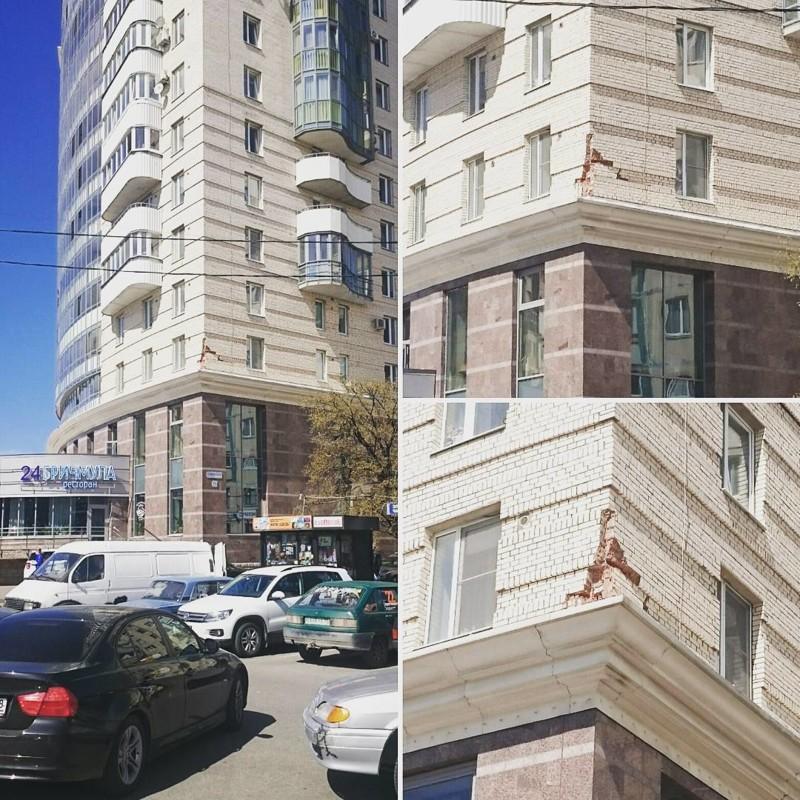 Никого уже не смущают трещины в новостройках жилье, и так сойдет, квартира, новостройка, прикол, ремонт, стройка, юмор