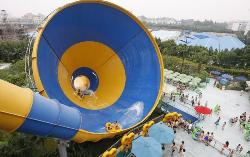 9. ChimeLong Water Park, Гуанчжоу аквапарк, топ, топ 10 2017