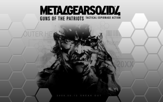 10 место. Metal Gear Solid — Guns of the Patriots