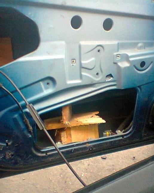 Вот что бывает, когда за дело берётся настоящий автослесарь! авто, авторемонт, автослесарь