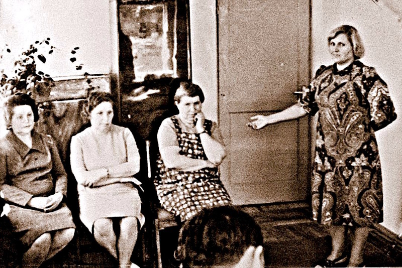 На фото очная ставка: свидетельница опознает Макарову СССР, Смертная казнь, женщины, жизнь, интересно, история, факты