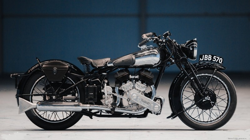 10 место: BROUGH SUPERIOR SS80 МОТОАРХИВ, мототехника, мотоциклы