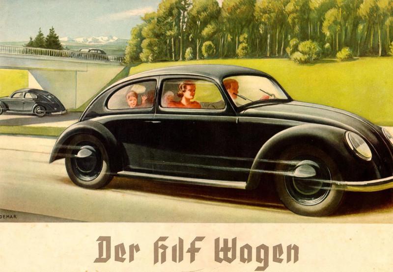 Volkswagen бизнес, бренды, германия, гитлер, нацисты, фанта
