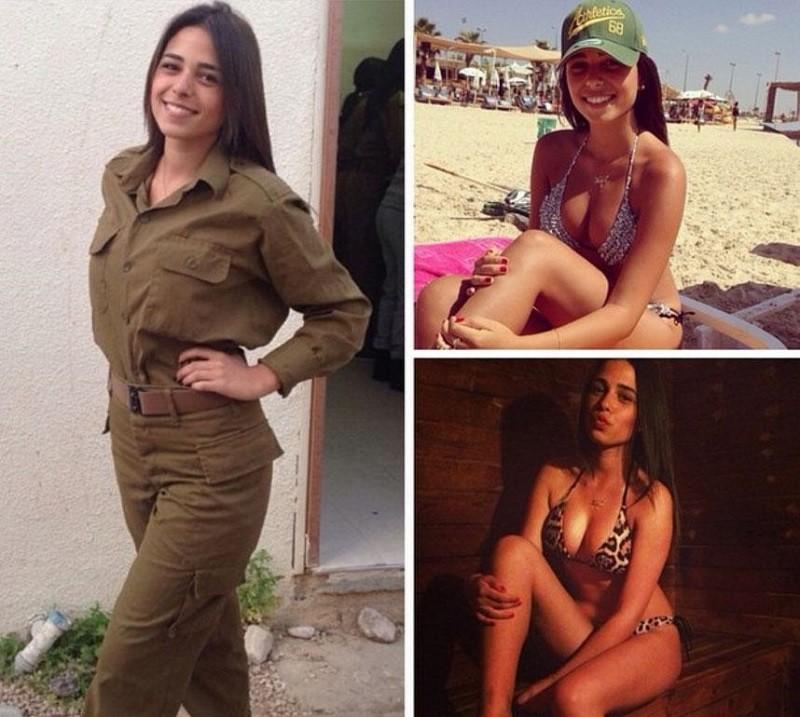 Израильские девушки голые #3