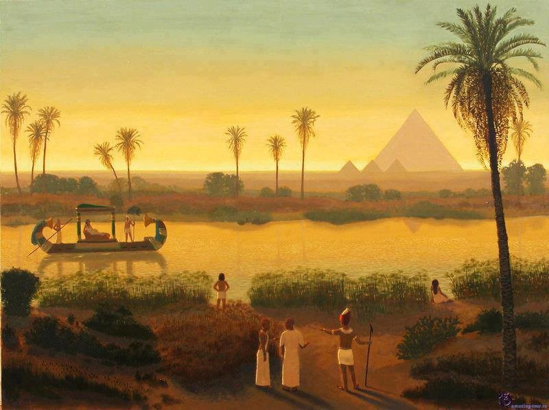 ancient egypt the nile river