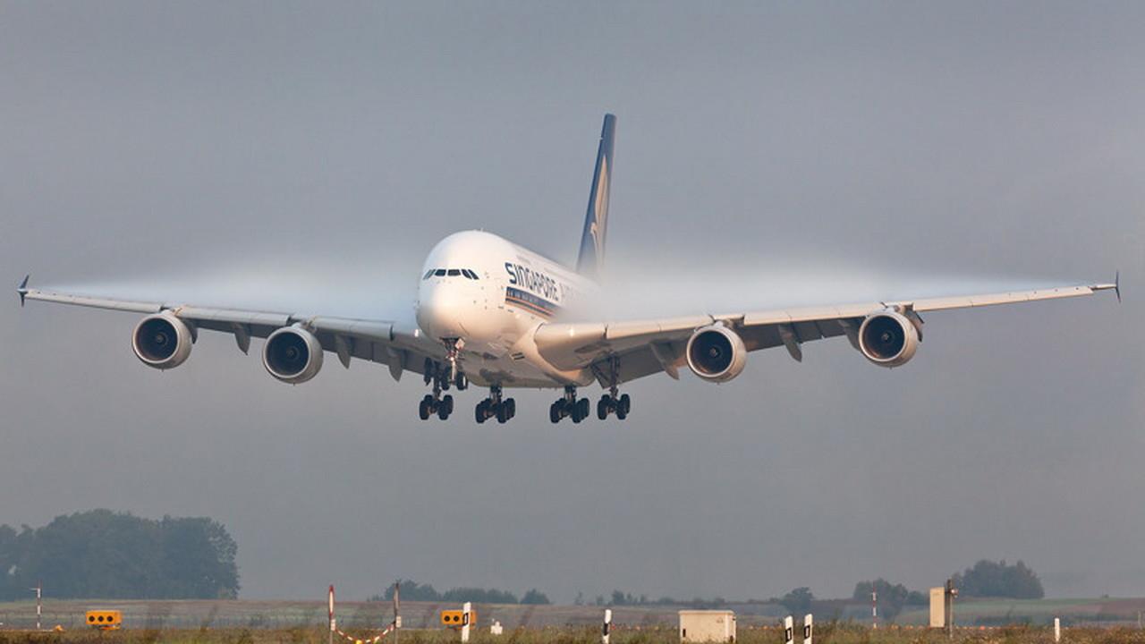 Фото пассажирских самолетов взлет и посадка