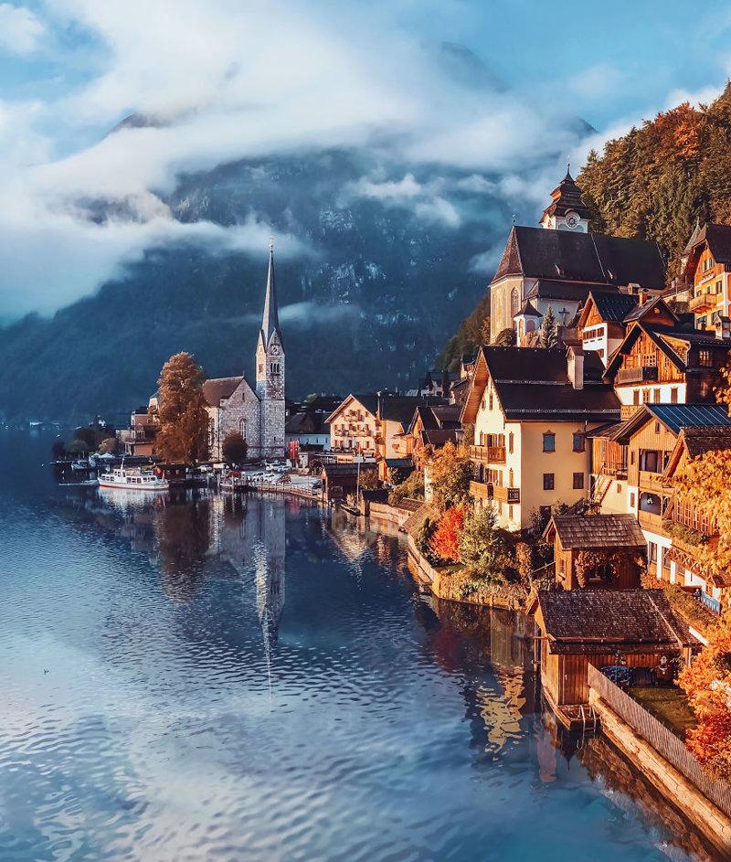 Австрия краски, листва, лондон, москва, осень, природа, фото, фотограф
