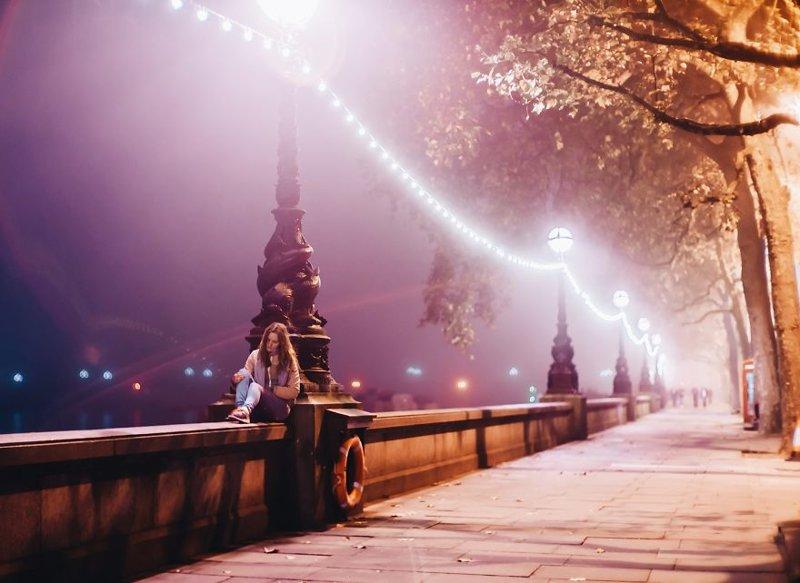 Она фотографирует красоту осени на нашей планете краски, листва, лондон, москва, осень, природа, фото, фотограф