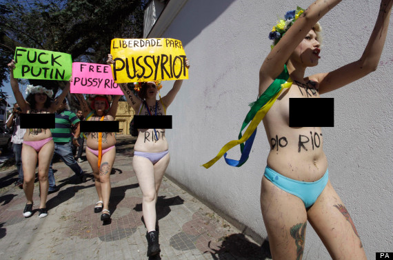 500 words on the pussy riot