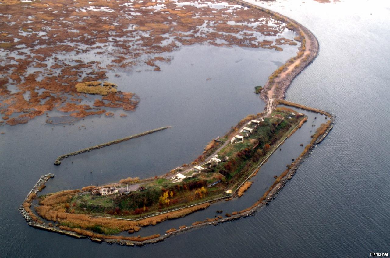 Форты Кронштадта: 1-й Северный (январь 2011)