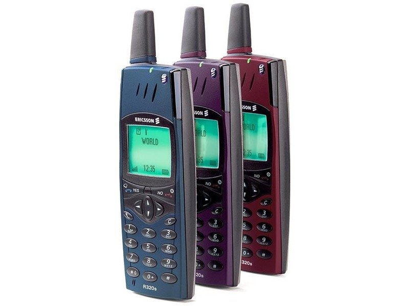 Ericsson R320s  ностальгия, сотовые, телефоны, техника