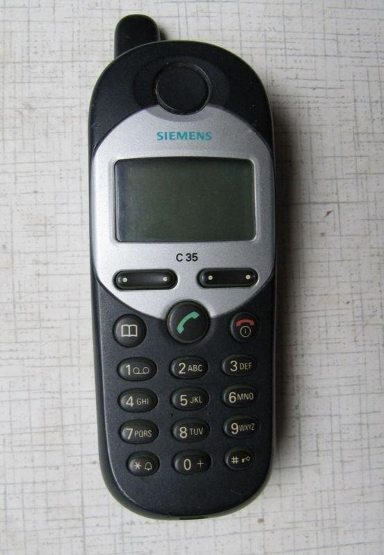 Siemens C35   ностальгия, сотовые, телефоны, техника