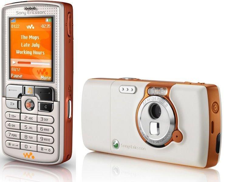Sony Ericsson W800i  ностальгия, сотовые, телефоны, техника