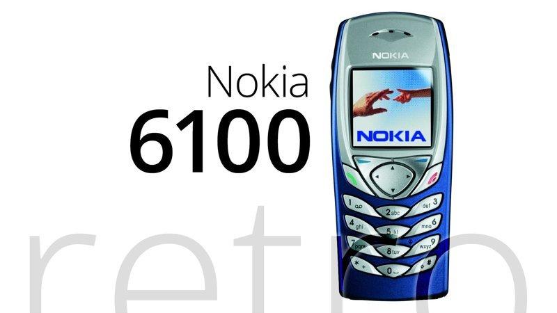 Nokia 6100   ностальгия, сотовые, телефоны, техника
