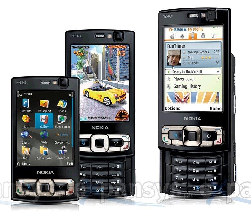 Nokia N95 ностальгия, сотовые, телефоны, техника