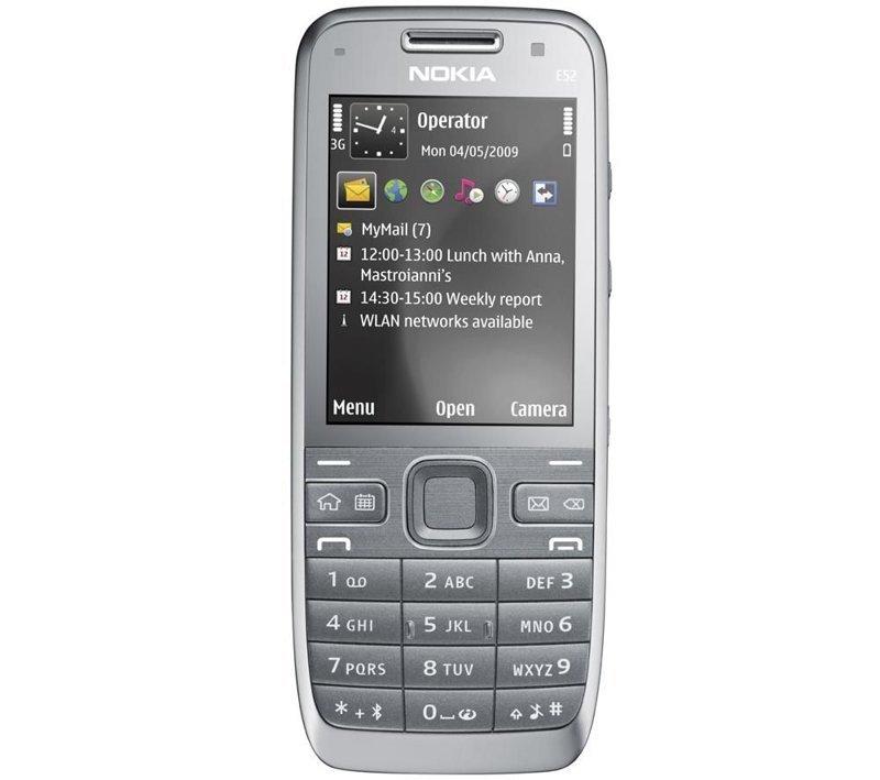 Nokia E52   ностальгия, сотовые, телефоны, техника