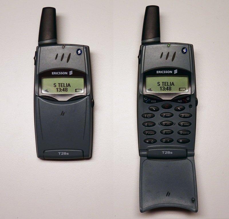 Ericsson T28s ностальгия, сотовые, телефоны, техника