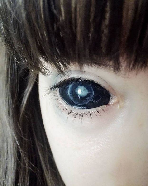 Юная полячка лишилась зрения из-за татуировки на глазах Польша, девушка, зрение, монстр, образ, тату на глазах, татуаж, фото
