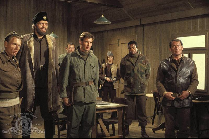 Отряд 10 из Навароне (1978) Force 10 from Navarone  роль— капитан Дражек