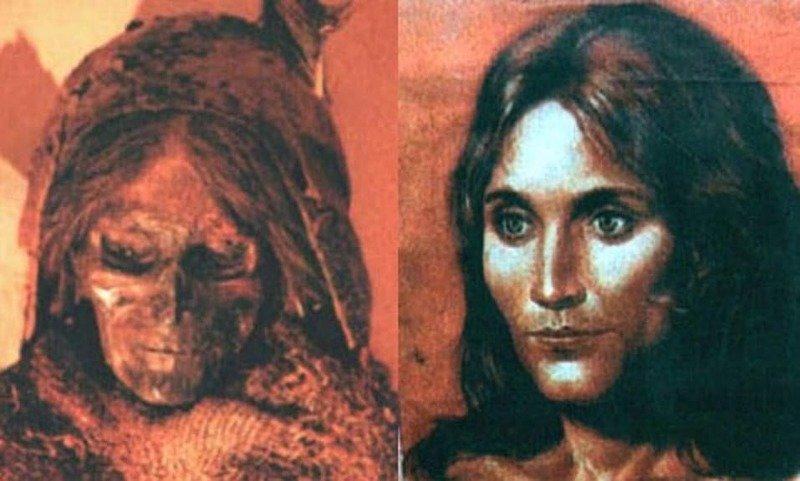 15. Таримские мумии археолог, загадка, интересное, мир, находка, пустыня, тайна