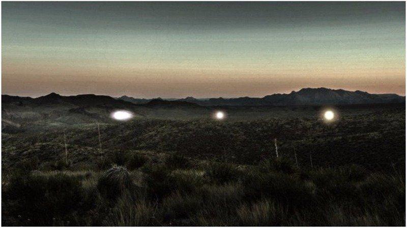 10. Призрачные огни Марфы археолог, загадка, интересное, мир, находка, пустыня, тайна