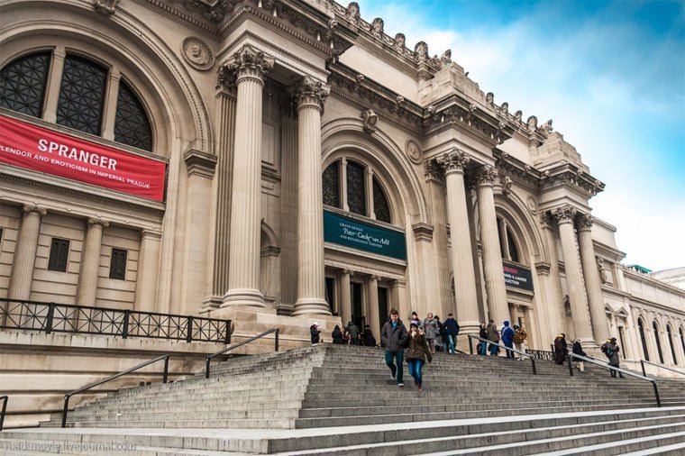Метрополитен-музей (Нью-Йорк) интересно, история, культура, музеи, планета