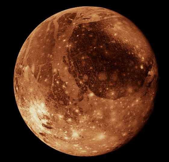 Ганимед (снимок NASA) вселенная, загадочно, космос, наука, пугающие звуки