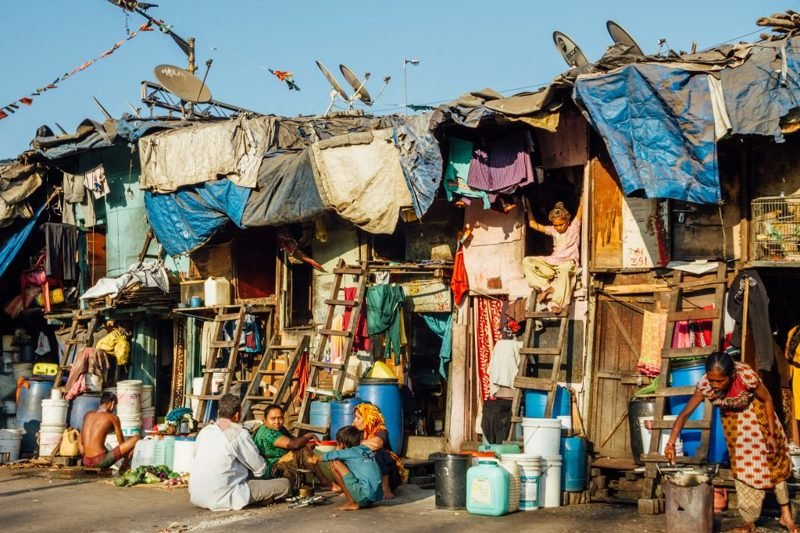 the impact of poverty in the slums of mumbai in india Mumbai, india caracas, venezuela a of paris demonstrated the differences and connection between slums, poverty and poor data also has a negative impact on.
