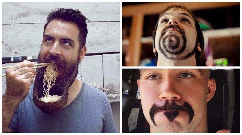 Что за прикол с бородатым мужиком, сперва в рот фото