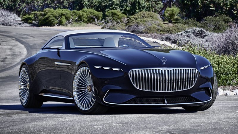 Mercedes Maybach 6 - 2019 года