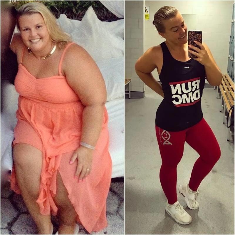 Реальные истории про похудение