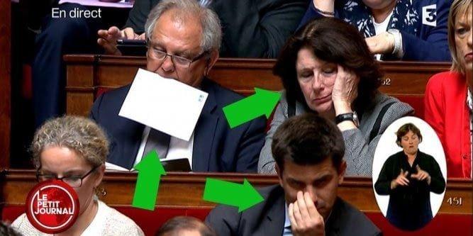 И гордость Франции 9gag, государственная дума, депутат, депутаты, идиотизм, опозорить страну, позор, политики