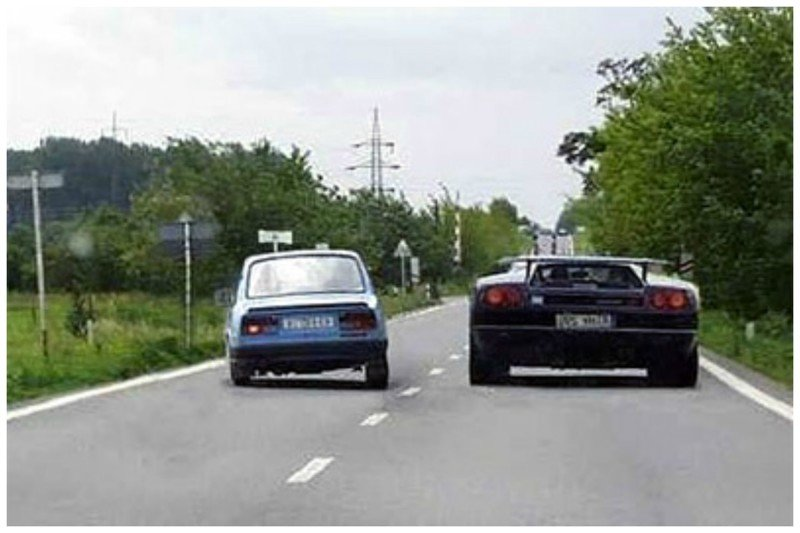 Не давите на газ, если вас кто-то обгоняет, даже если вам очень обидно (шутка). Дайте человеку завершить маневр, а потом, если пожелаете и если позволит дорожная обстановка, сами его обгоните автомобили, всячина, интересное, полезное, советы