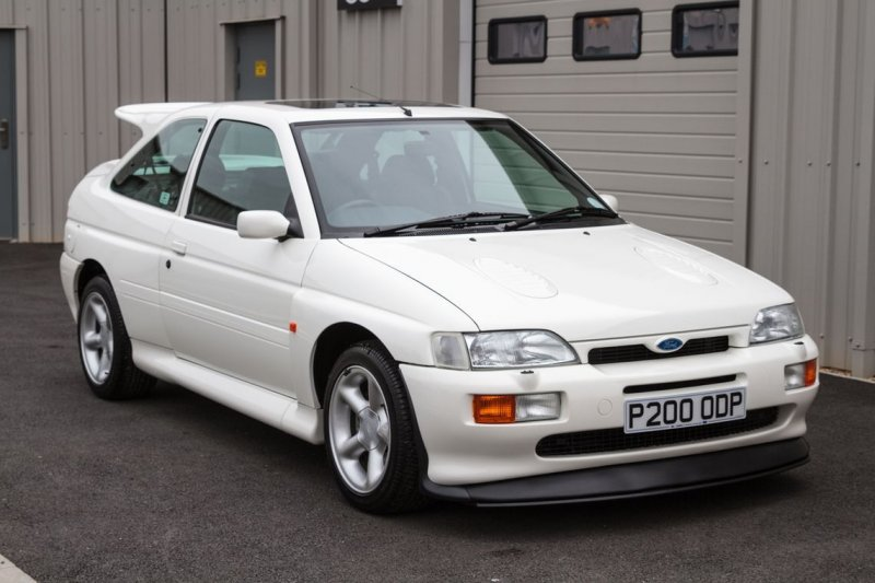 21-летний Ford Escort Cosworth выставят на торги Cosworth, ford, ford escort, авто, аукцион, найдено на ebay, ралли, янгтаймер