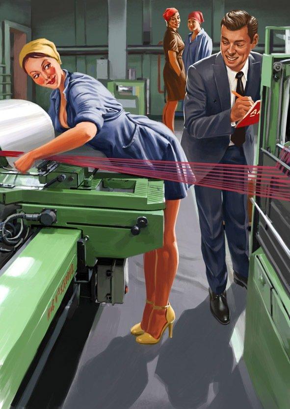 Вечная память, смешные картинки на заводе